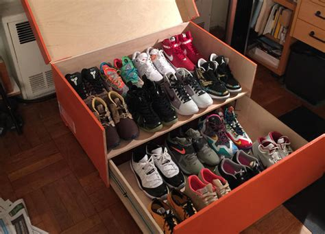 shoes storage box nike shoe box storage car interior design