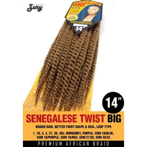 is zury hair good for seneglese twist zury synthetic crochet braid senegalese twist big 14 quot