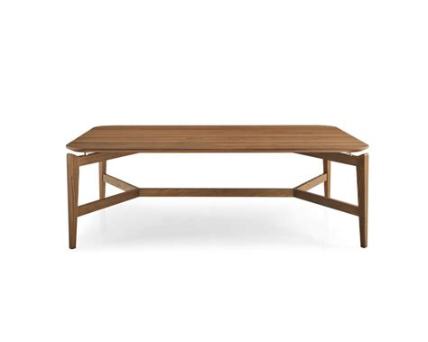 symbol rectangular wooden coffee table calligaris cs 5055 r
