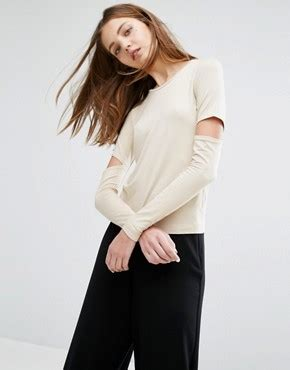 weekday weekday shirt with dot jacquard simple accessories weekday shop weekday dresses tops trousers asos