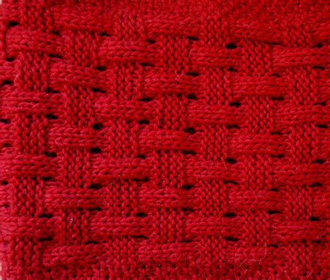 how to knit basket stitch basketweave knitted infinity scarf things we do