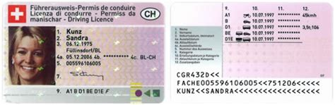 Motorradf Hrerschein Info by F 252 Hrerausweis Im Kreditkartenformat Fak Baselland Ch
