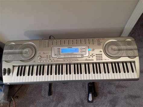Keyboard Casio Wk 3800 casio wk 3800 keyboard with stand power supply and sustain pedal reverb