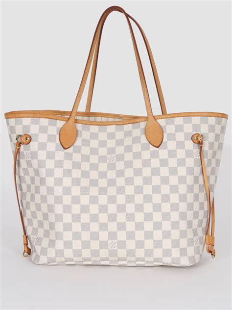 Louis Vuitton Damier Azur Line louis vuitton neverfull mm damier azur canvas luxury bags