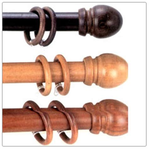 curtain wooden poles pros and cons of wooden and metal curtain poles useful tips