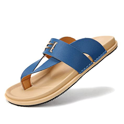 summer house shoes sandals summer slippers casual fashion summer sandal womens open toe leather sandals