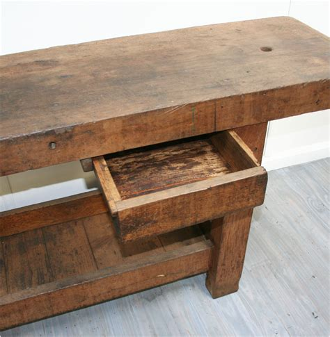 large work bench large french workbench haunt antiques for the modern interior