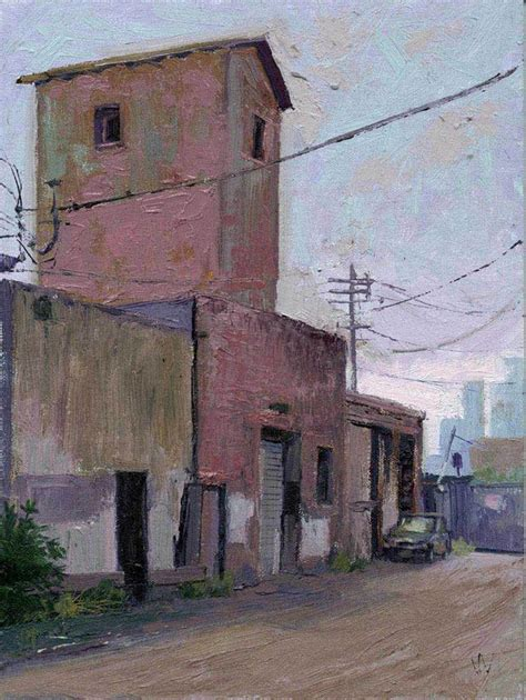 artist house pink william wray landscapes pinterest landscaping