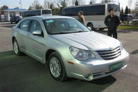 Chrysler China by China S Electric Chrysler Sebring Baic Be071 Cars And