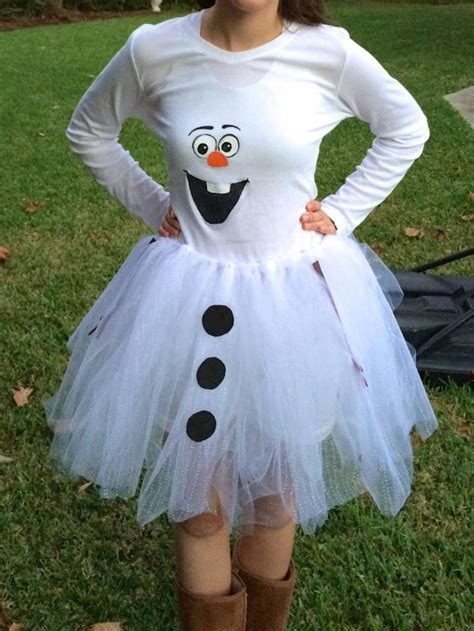 an olaf dress up costume to say quot awwww quot over ruffles and halloween costumes for teens diy projects craft ideas