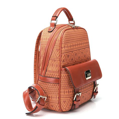 fashion backpack bag orange
