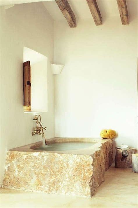 vasca da bagno in pietra oltre 25 fantastiche idee su doccia in pietra su