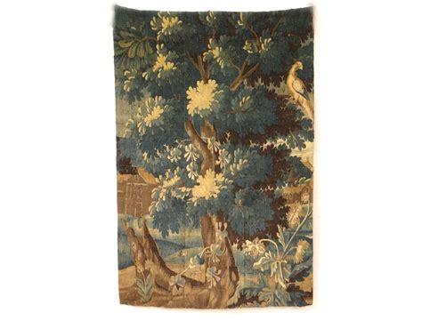 Door Tapestry by Aubusson Tapestry Door Green Landscape Bird Forest Trees Xviii