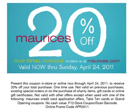 maurices outlet printable coupons printable coupon for jc penney 2015 march free printable