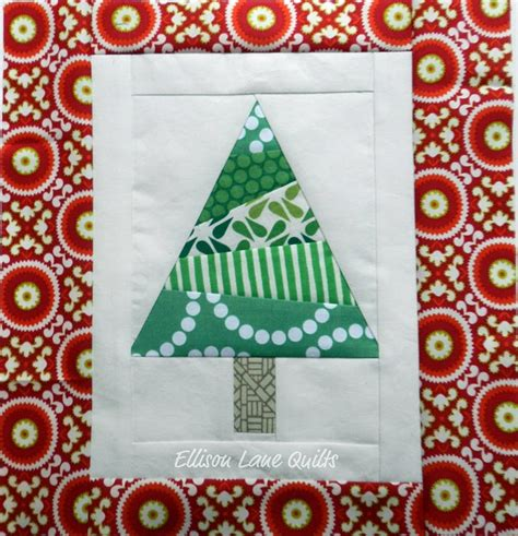 12 days of christmas block 7 tree sew sweetness