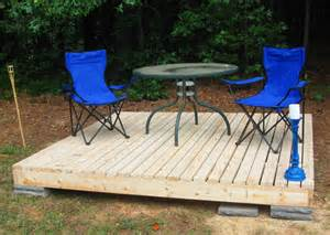 how to build a floating deck how to build a fabulous diy floating deck the garden glove