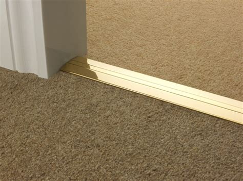 Posh Brass Cover Door Plate: universal : Carpetrunners