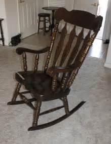 large rocking chair norcal auctions estate sales lot 23