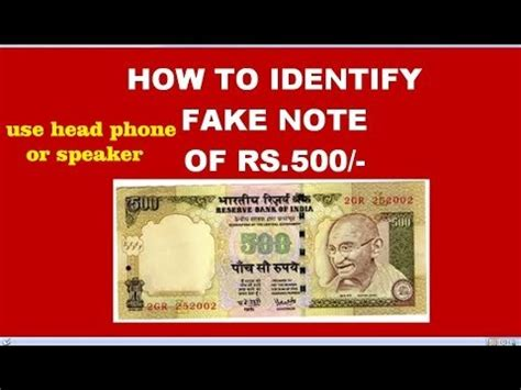 3 ways to identify new rs 500 and how to identify 500 rupees note