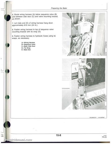 100 deere bale trak monitor manual 1990