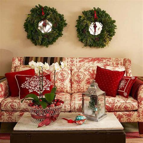 traditional christmas decorating ideas home ifresh design stroiki świąteczne na ścianie zdjęcia e mieszkanie
