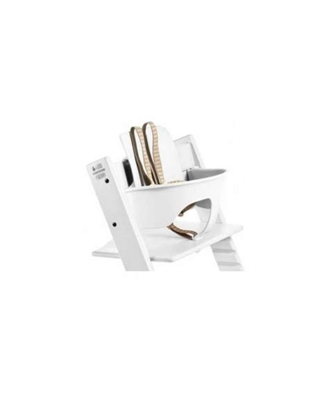 White Tripp Trapp Chair by Stokke 174 Tripp Trapp Chair Baby Set White Mamas Papas Uae