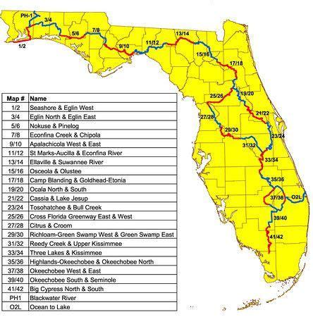 florida trail map best 25 mapa florida ideas on michigan