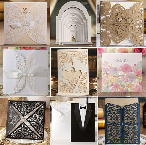 wedding card supplies 27 sles for choose free shipping brand quality 2016