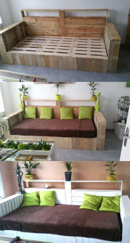 Decke Für Sofa Sitzfläche by Baue Dir Dein Eigenes Lounge Sofa Aus Palletten F 195 188 R