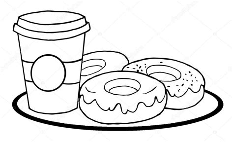 coffee mug coloring pages