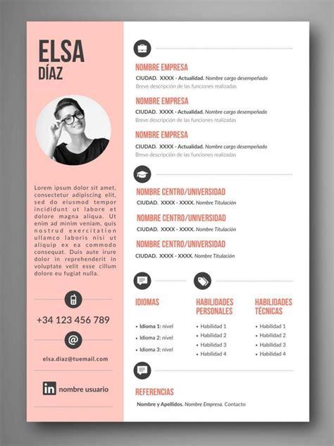 Plantillas De Diseño Curriculum Vitae plantilla cv lima orientaci 243 n para el empleo