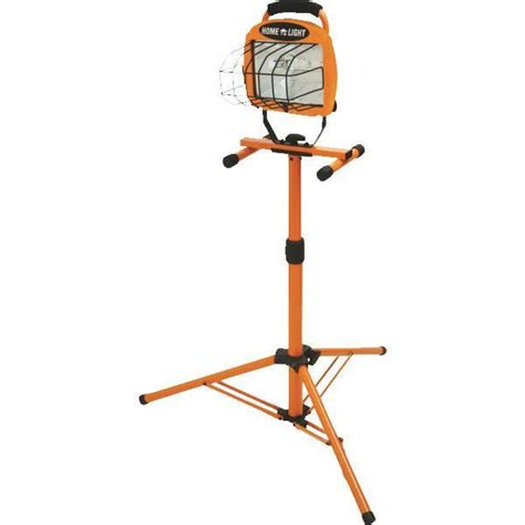 halogen l with stand 500 watt halogen portable work shop stand light fixture