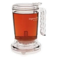 Review The Ingenuitea Microwavable Tea Pot by Adagio Teapots Tea Kettles The Tea Supply