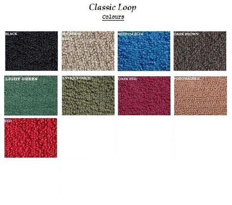 classic colours knox auto carpets colour range