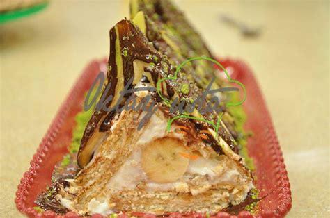 muzlu ikolatal pasta tarifi yemek tarifleri sitesi oktay usta muzlu piramit pasta tarifi oktay ustam ilk yemek