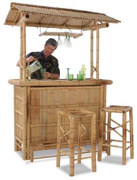 backyard tiki bar sets bamboo tiki bar turns your backyard into a beachfront paradise