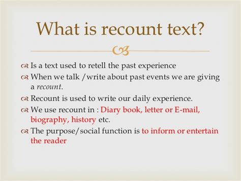 recount text biography terbaru recount text