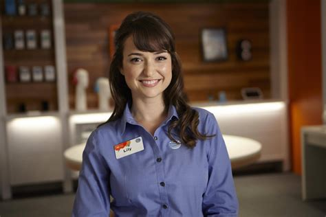 girl in att commercial milana vayntrub is so much more than the face of at t