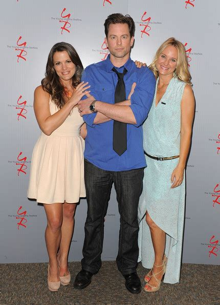 yrs sharon case and michael muhney together again in michael muhney photos photos the young and the restless