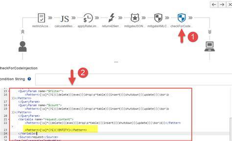 find pattern in xml sap cloud platform api management threat protection
