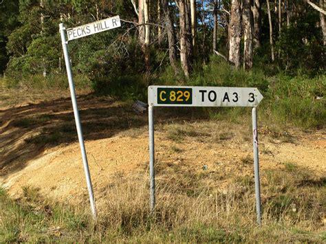Tas Ad 829 ozroads tasmanian route c829