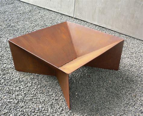 diy pit steel geometric firepit by paul plauch 233 tuvie