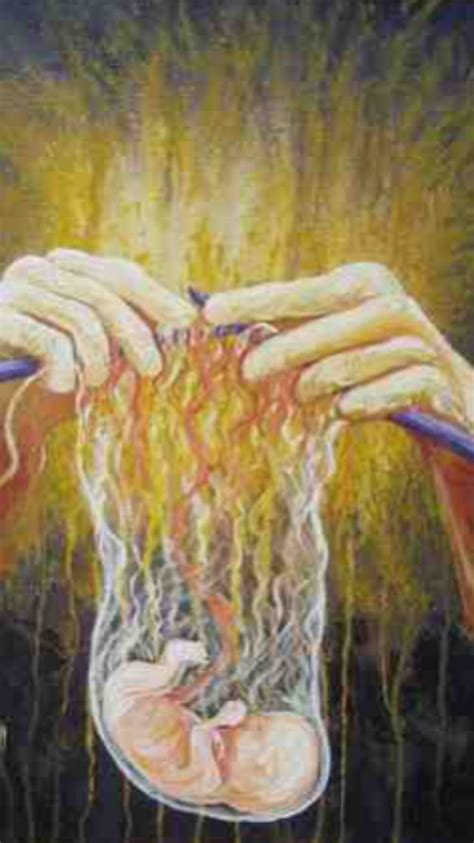 For You Created My Inmost Being You Knit Me Together In
