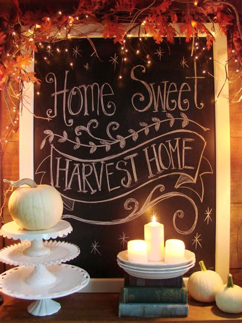 homespun with harvest home decorating inspiration