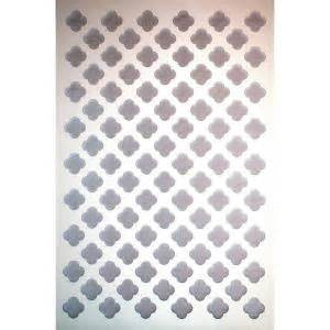 home depot plastic lattice acurio latticeworks 1 4 in x 32 in x 4 ft white clover