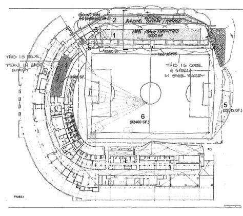 football stadium floor plan liars budget and drawings on paulson stadium deal jack