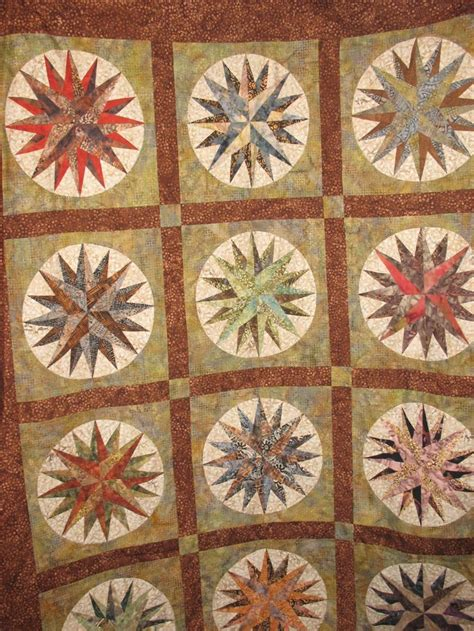 quilt pattern mariner compass 17 best images about mariner s compass quilts on pinterest