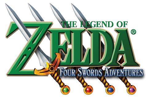legend of four swords four swords adventures logos