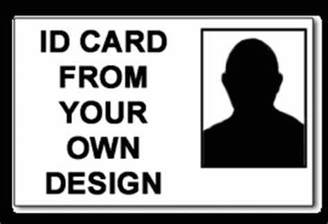 design my own id card staff photo id cards from your own design