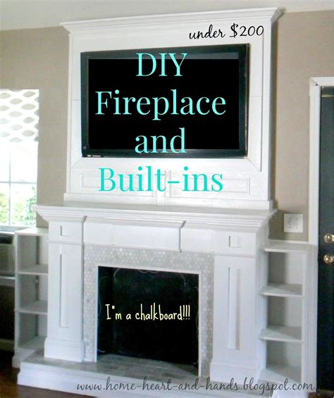 How To Make A Fireplace by Home And How To Build A Diy Fireplace